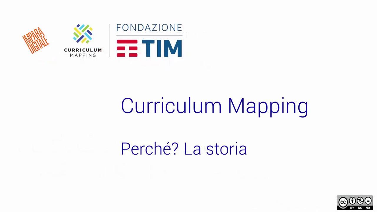 Presentazione Curriculum Mapping