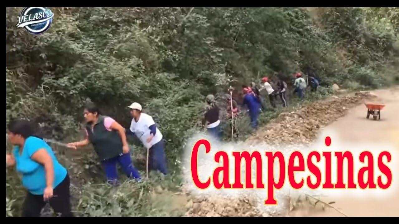 LA VIDA DE LA MUJER CAMPESINA