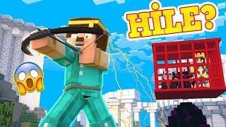 2 YOUTUBER VİDEODA BAN YEDİ - (Minecraft Evi Egg Wars)