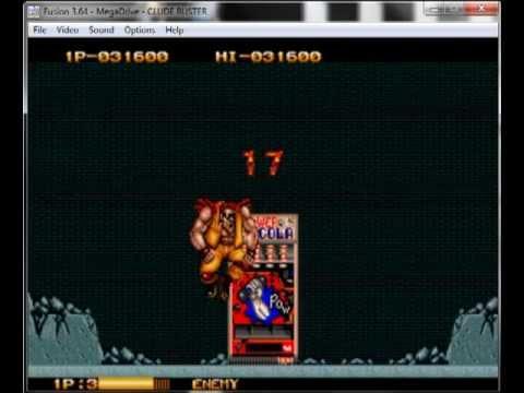 Two Crude Dudes / Crude Buster - Mega drive / Genesis Longplay
