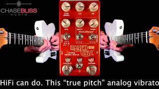 Mike Hermans Using Rocknroll Amps Blues Senior 46V6 Demoing Chase Bliss Audio Warped Vinyl HiFi