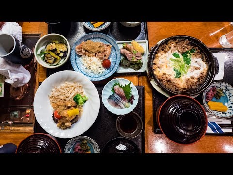 Japanese Food - Amazing Lunch Sets at Sake Noana (酒の穴) | Restaurants in Ginza, Tokyo!