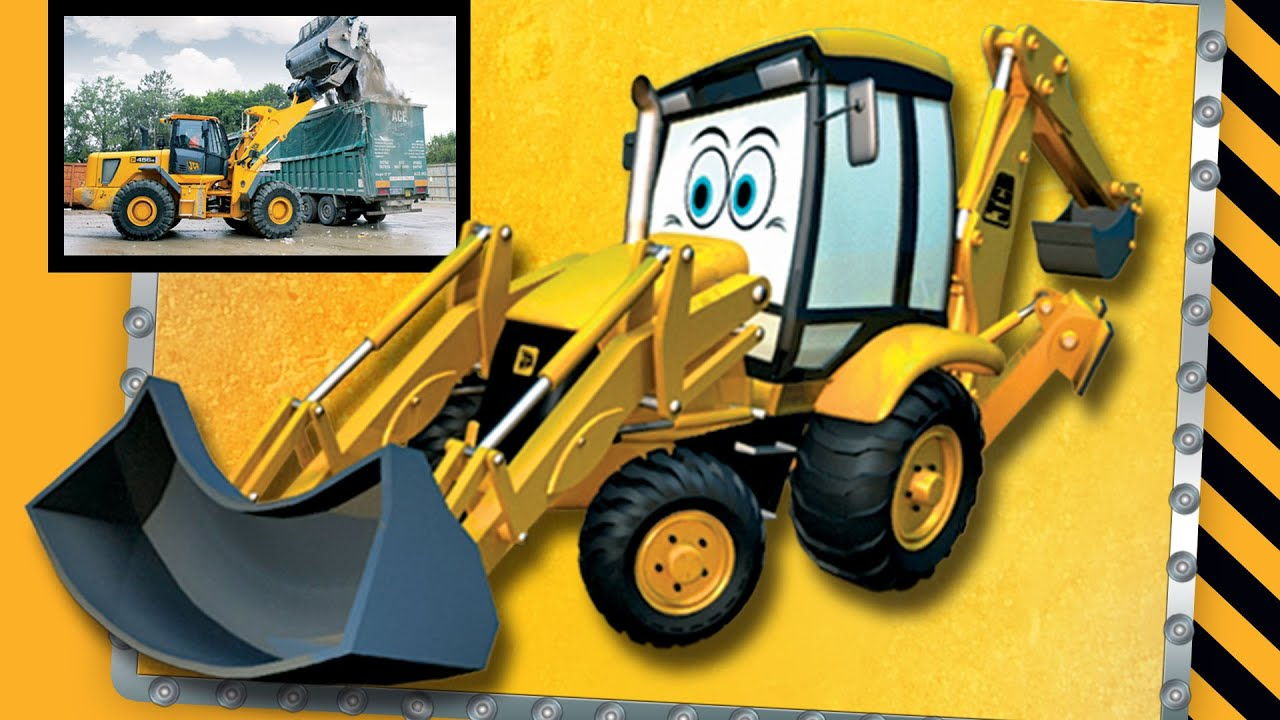 Backhoe for Children | I Love My JCB