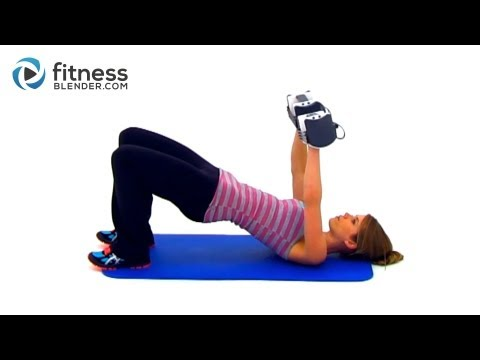 20 Minute Total Body Strength and Cardio Workout Fitness Blender's Total Body Toning Workout