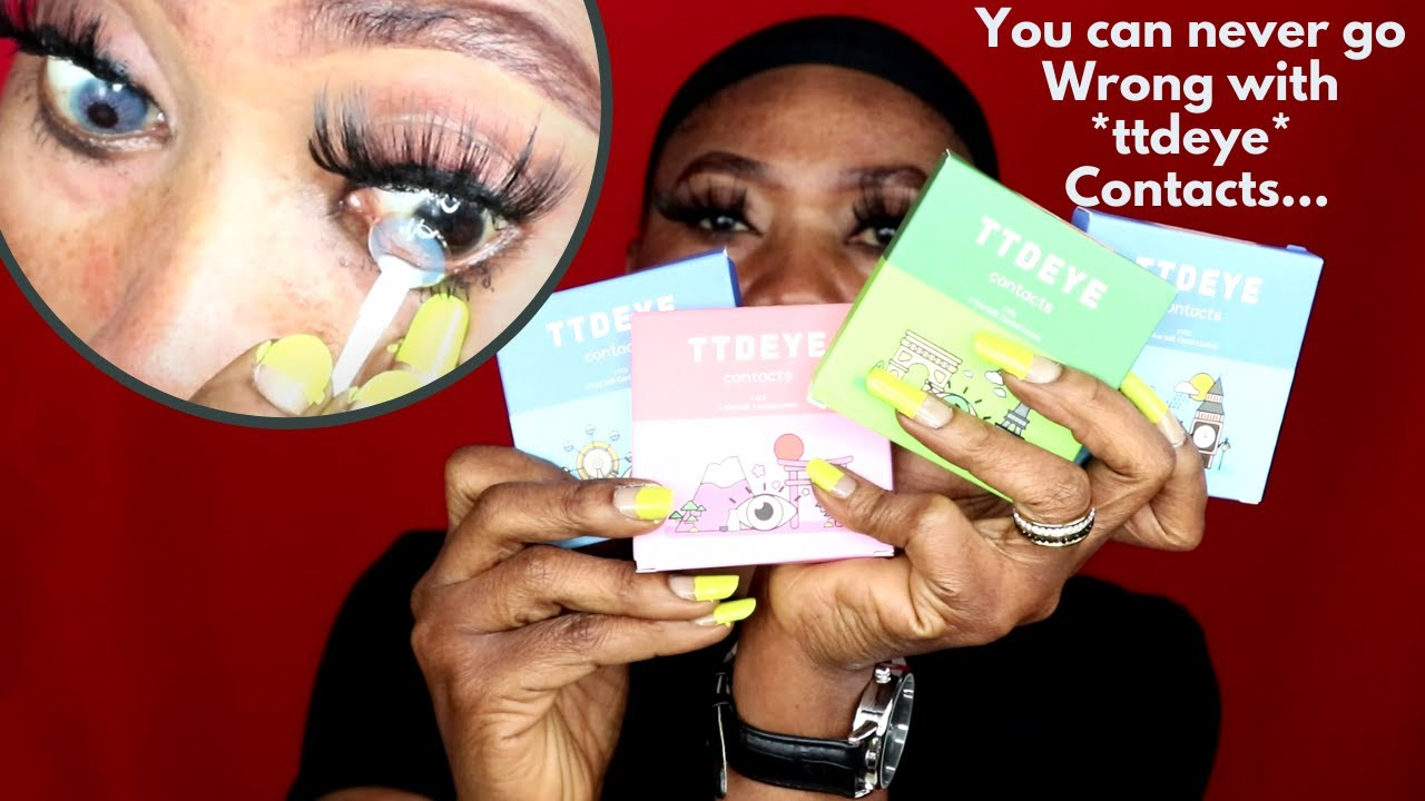 TTDEYE CONTACTS  NEW COLLECTION 2020 | Chelsea Christophe