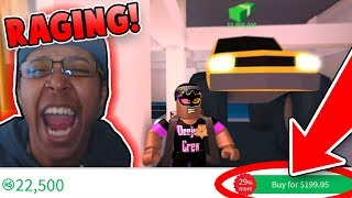 RAGING OVER *60,000* ROBUX MONSTER TRUCK IN JAILBREAK?! (Roblox Jailbreak)