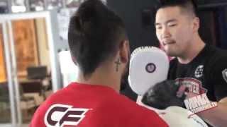 Francisco Rivera preps for UFC 173 fight