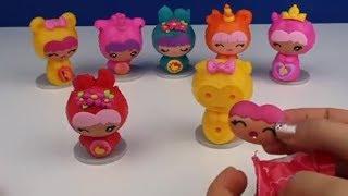 Sürpriz Yumurtadan Smooshins Squishy Kawaii Bebek, Dolls DIY Toy Maker Bidünya Oyuncak