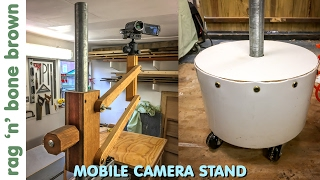 Video Mobile Camera Stand - using concrete and reclaimed materials download MP3, 3GP, MP4, WEBM, AVI, FLV Oktober 2018