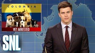 Weekend Update on Vet Who Smuggled Heroin in Puppies - SNL