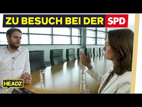 Zu Besuch bei der SPD (Katarina Barley über Schulz, CDU & Hartz IV)