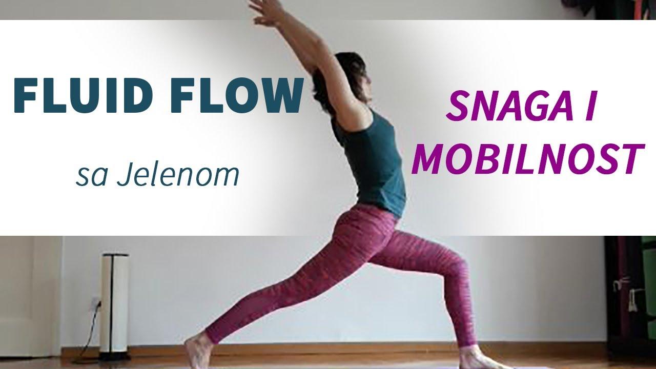 FLUID FLOW - Vinyasa yoga sa Jelenom