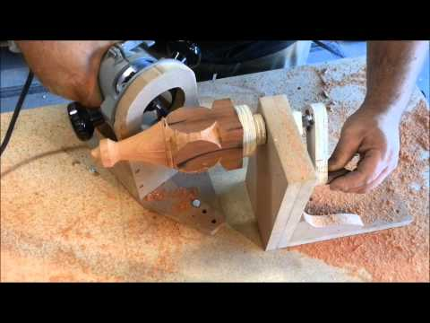 Simple Router Jig - Decorative Furniture Feet