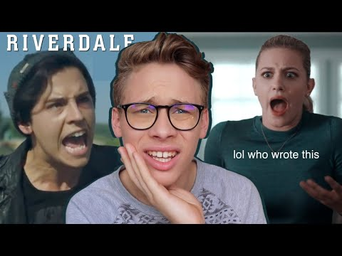 Actor Reacts To Cringey Riverdale Scenes With No Context