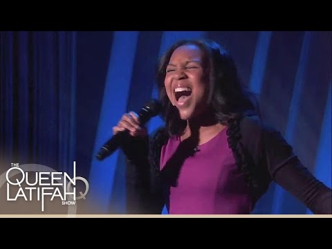 13-Year-Old Jazz Singer Wows Queen! | The Queen Latifah Show