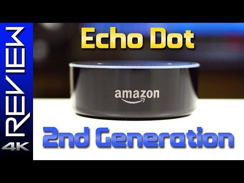 Amazon Echo Dot 2nd Gen Review - Home Automation & Echo vs New Echo Dot