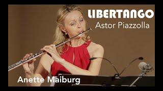 Astor Piazzolla: Libertango (Flute). Tango Argentina