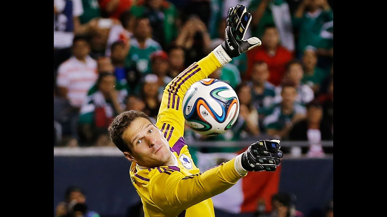 ASMIR BEGOVIC Top saves against Mexico and Cote d ivoire