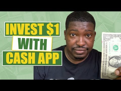 Invest $1 With Cash App?   Invest In Stocks Using Cash App