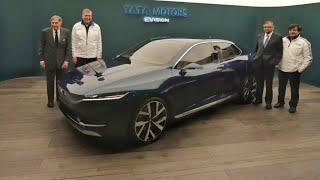 Tata H5X SUV, 45X Hatchback and eVision Sedan at Geneva International Motor Show 2018!!