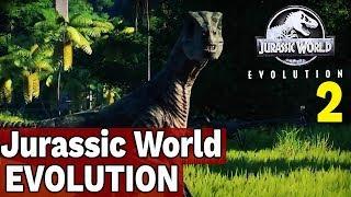 RAPTORY CZYLI PROBLEMY - ISLA MUERTA - JURASSIC WORLD EVOLUTION