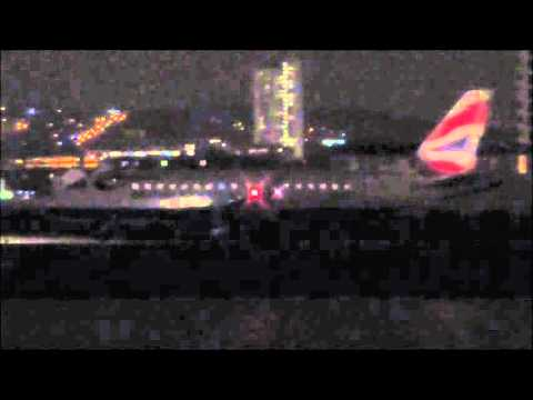 Windy + Rainy Planespotting at London City Airport 10/12/15 - Part 2 of 3