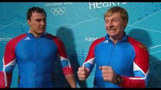 Russia 2010 Olympic Team Bad Reaction To Canada's Crash