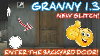How To Open The Door in Backyard - Granny (Horror Game)