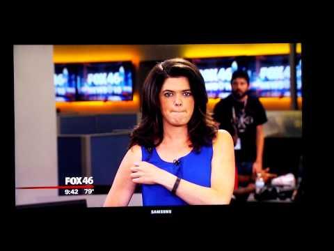 Fox 46 Charlotte Preseason Blooper
