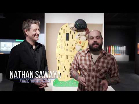 "Exploring ""The Art Of The Brick"" At HMNS With Nathan Sawaya"