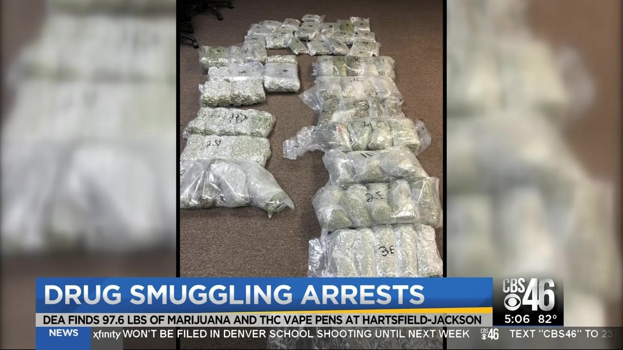 100 pounds of pot seized at Atlanta airport