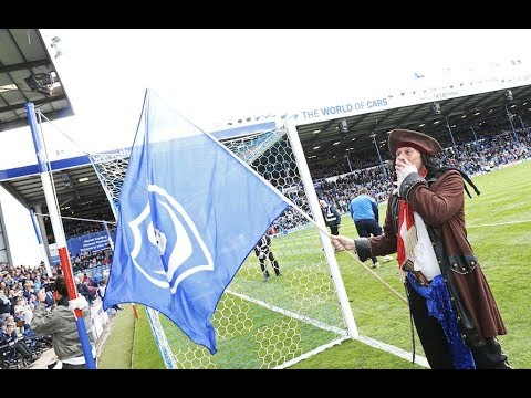 Fratton Park pays tribute to Craig Bryden, the 'Pompey Pirate'