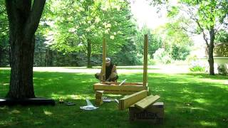 How To Build A Swing Set Part 1