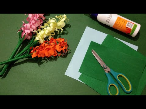DIY Paper Craft Easy Flower Decorations