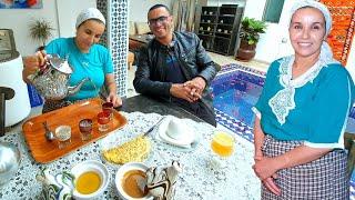 لالة حادة سمح  فيها ولدها يونس 🤔 و مشى لمدينة مراكش
