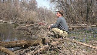 ВЕСЕННЯЯ РЫБАЛКА НА ЛЕСНОЙ РЕКЕ Рыбалка на поплавок в апреле Рыбалка 2021