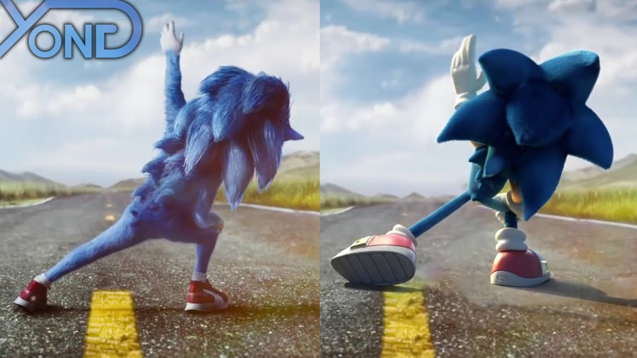 Fan Swaps Awful Sonic Movie Design With Better Version It Makes A Huge Difference Youtube