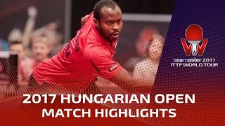2017 Hungarian Open Highlights: Ruwen Filus vs Aruna Quadri (1/4)