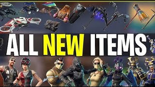 SKINS (ROAD TRIP!!) EMOTES BACKBLING TOMATO TOWN GONE?! PLUS!! | Fortnite Bataille Royale