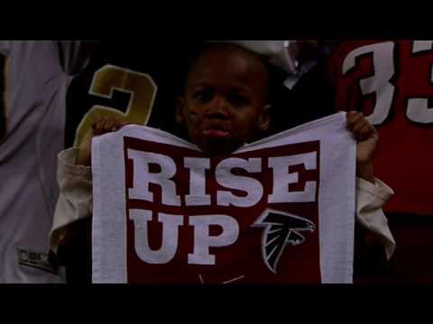 Morgan Freeman Narrates Atlanta Falcons Hype Video