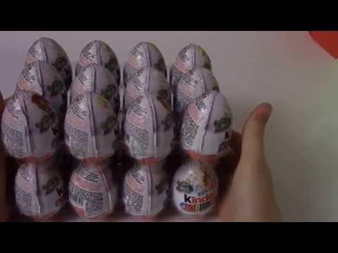 Феи Диснея 24 яйца киндер сюрприза на русском Disney Fairies