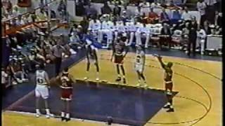 Bulls vs Cavs 1992 playoffs - Game 6 - Jordan wakes up in fourth