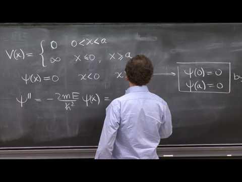 L11.2 Infinite square well energy eigenstates.