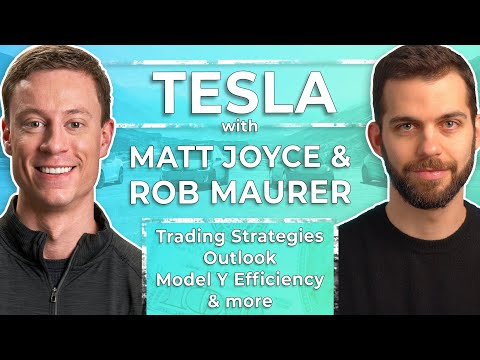 Tesla: 2020 Outlook, Trading Strategies, TSLA Options, Model Y, And More W/ Matt Joyce & Rob Maurer