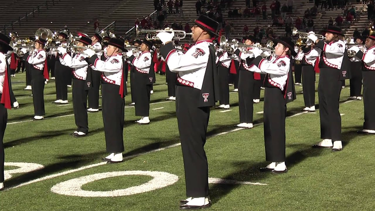 Texas Tech Band at Hays CISD - YouTube