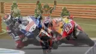 valentino rossi win in motogp phillip island australia 19 10 2014 marc marquez fall