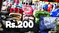 Luggage market in delhi | travel bag market in delhi | travel bag wholesale market