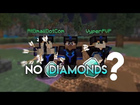 FULL DIAMOND IN NO DIAMONDS MODE | Hypixel UHC Highlights