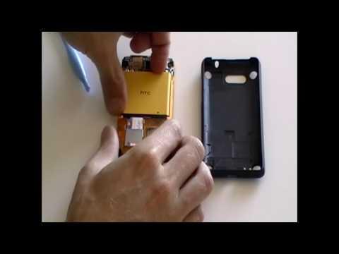 HTC Aria Take Apart & Replacement Repair Guide Video