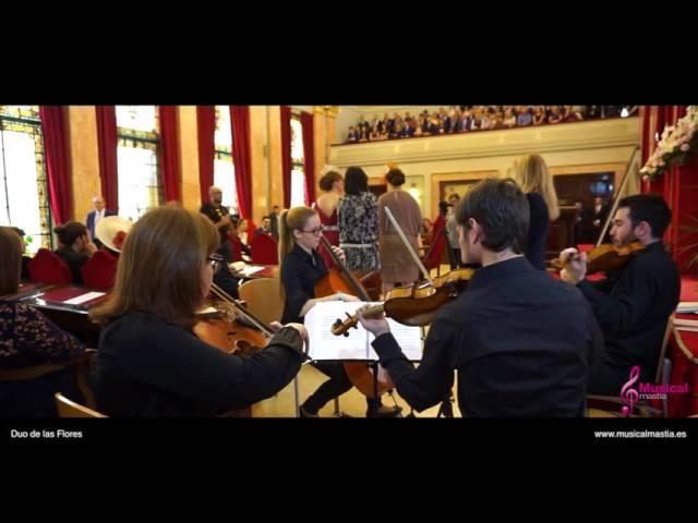 Duo de las Flores Delibes - Ayuntamiento de Murcia - Musical Mastia Bodas Murcia cuarteto de cuerda
